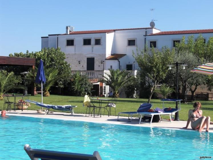 Masseria Montepaolo - Una vista dalla piscina