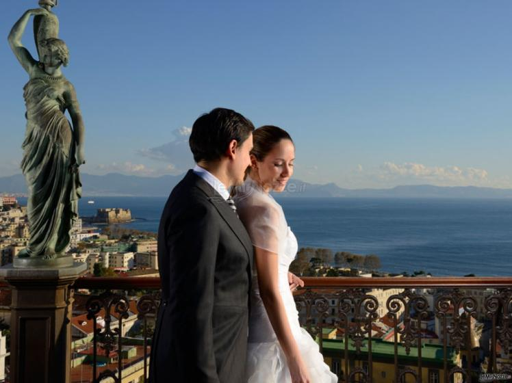 Grand Hotel Parker's - Gli sposi sulla terrazza