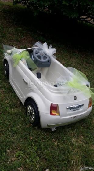 Insolito Fiori - Anche per l'auto dei bimbi