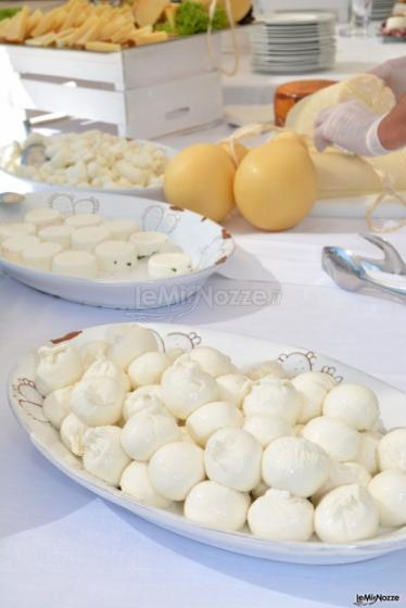 Buffet di mozzarelle