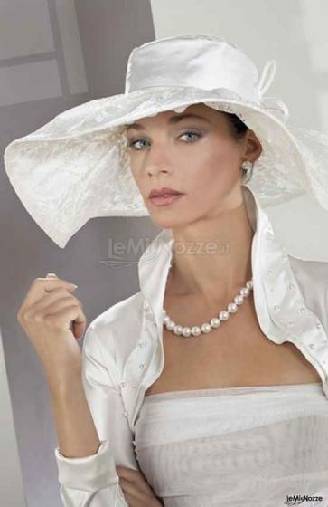 Cappello per sposa carla ragaini foto 1 for Cappelli per matrimonio
