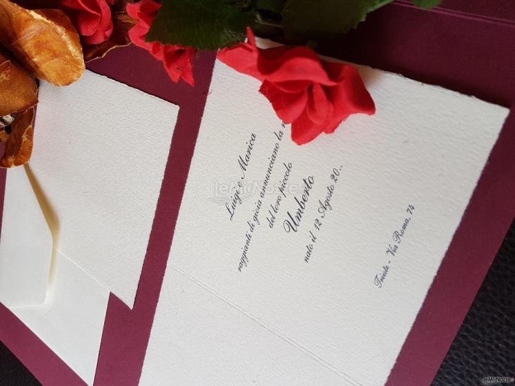 Tipografia Molini 1944 - Partecipazioni matrimonio