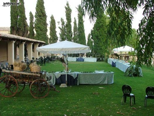 Ricevimento di matrimonio in giardino agriturismo - Matrimonio in giardino ...