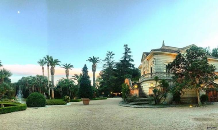 Villa Vergine - Al tramonto