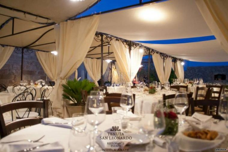 Tenuta San Leonardo - Una panoramica dei tavoli