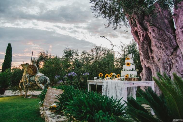Casale San Nicola - Il tavolo della torta