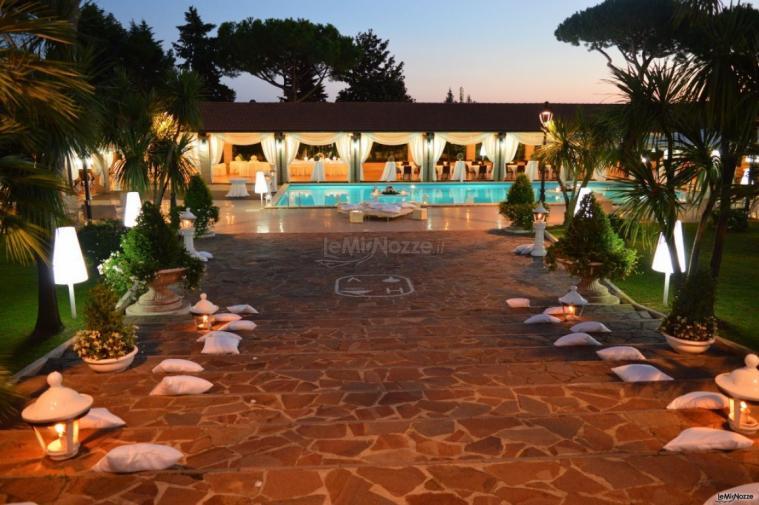 Royal Vesuvio - Ingresso in piscina