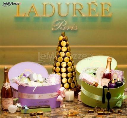 Bomboniere e confetti per il matrimonio - Boutique Ladurée Milano