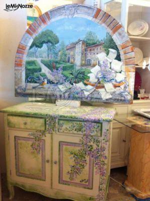Tableau e tavolo confettata realizzato da decoration 2000 for Mobili 2000 avellino