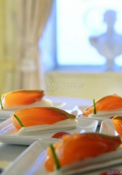 Grand Hotel Parker's - Finger food di pesce per il matrimonio