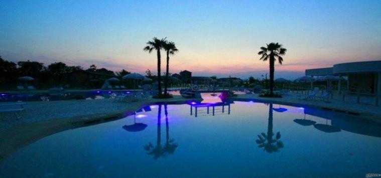 Chervò Golf Hotel &  Resort San Vigilio - La piscina al tramonto
