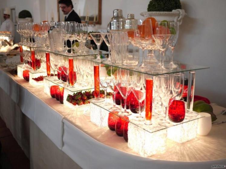 Popolare Foto 82 - Matrimonio in rosso - Tavolo dell'aperitivo in rosso  EW07