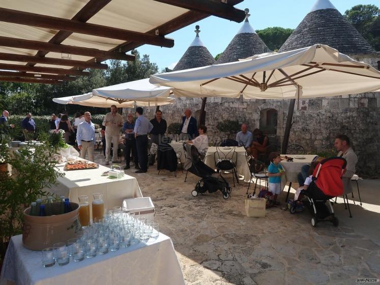 Masseria del Gelso Antico - I tavoli all'aperto