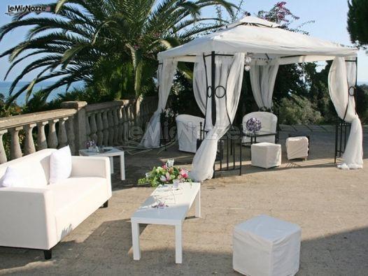 Ricevimento di matrimonio all'aperto - Noemi Weddings