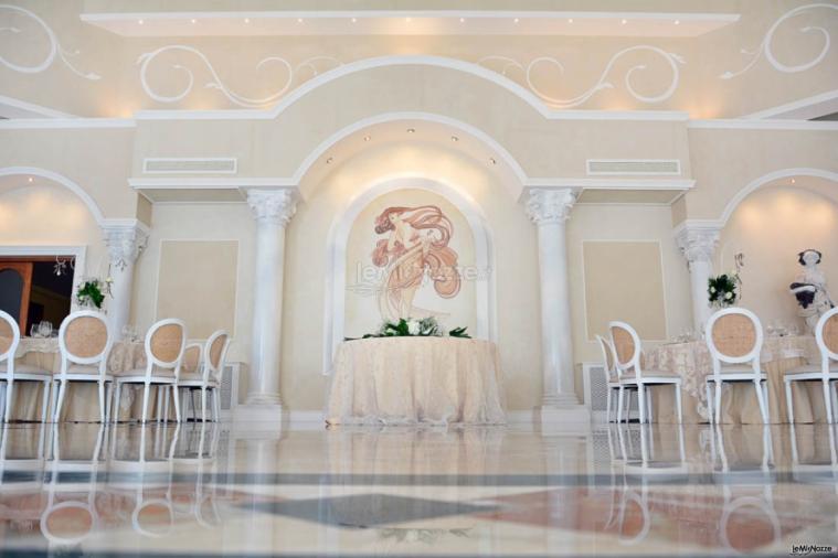 Villa Madama - Il tavolo degli sposi
