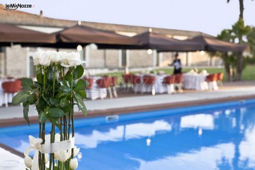 Ricevimento di matrimonio a bordo piscina villa carlotta for Matrimonio bordo piscina