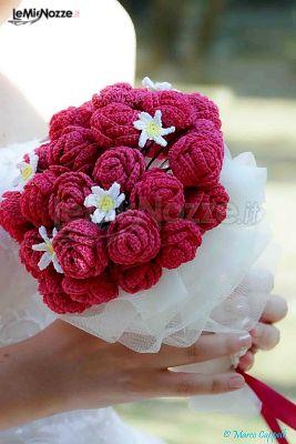 Foto 60 Matrimonio In Rosa Bouquet Per La Sposa Realizzato Con
