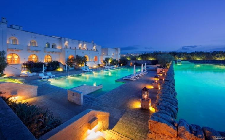 Borgo Egnazia - Panorama serale